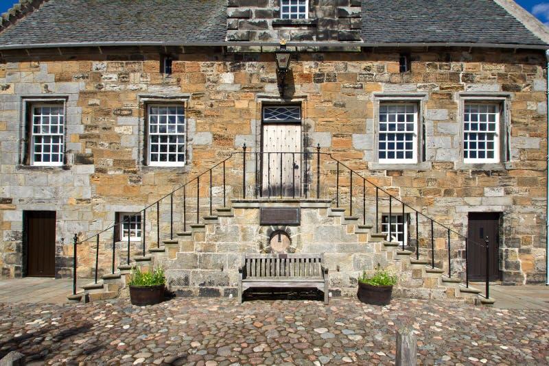 Шотландия, culross стоковая фотография
