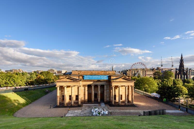 Шотландская национальная галерея Edinbugh, Великобритания стоковые фото