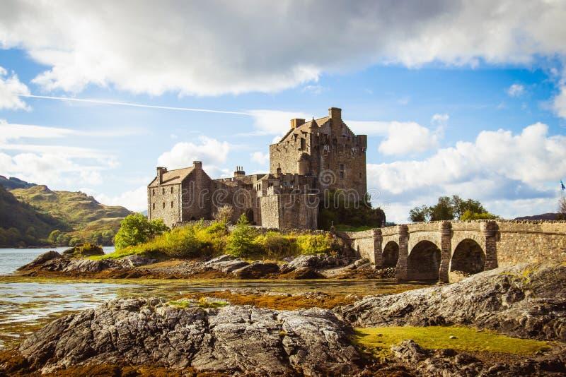 Шотландский замок стоковые фотографии rf