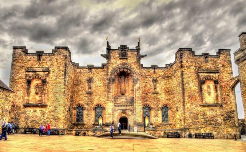 Шотландский национальный военный мемориал в Эдинбурге стоковая фотография rf
