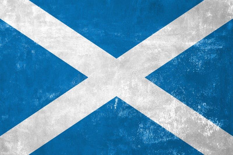 Шотландский флаг стоковые изображения rf