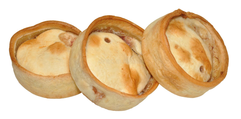 Шотландские расстегаи мяса стоковые фотографии rf
