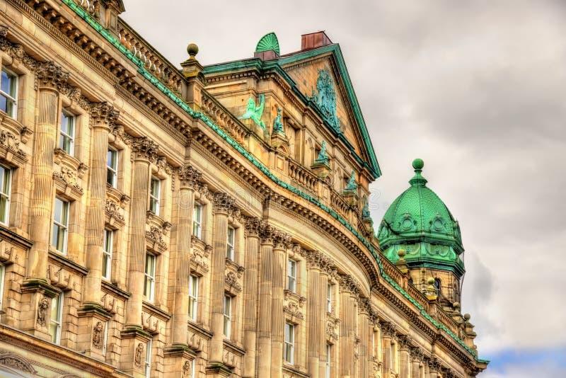 Шотландское предусмотрительное заведение, историческое здание в Белфасте - стоковое изображение