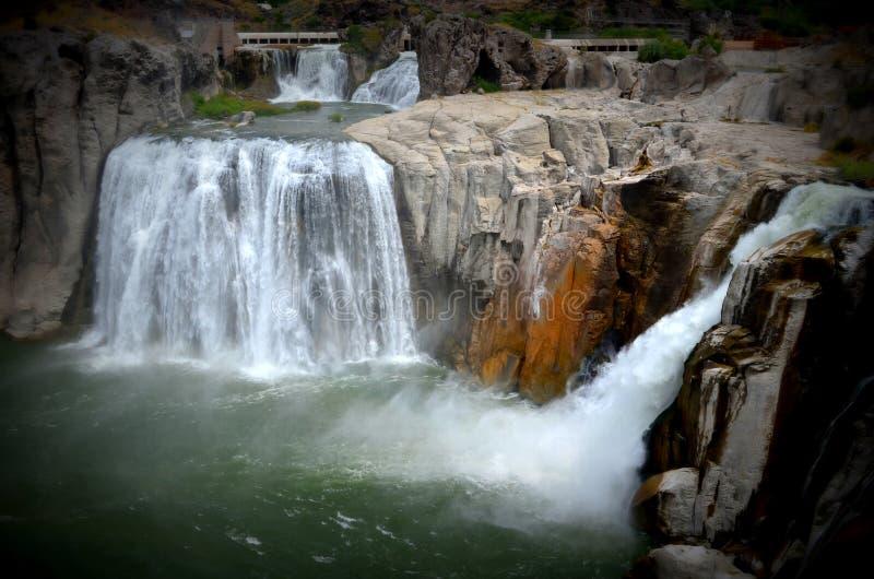 Шошон падает в Айдахо стоковое изображение