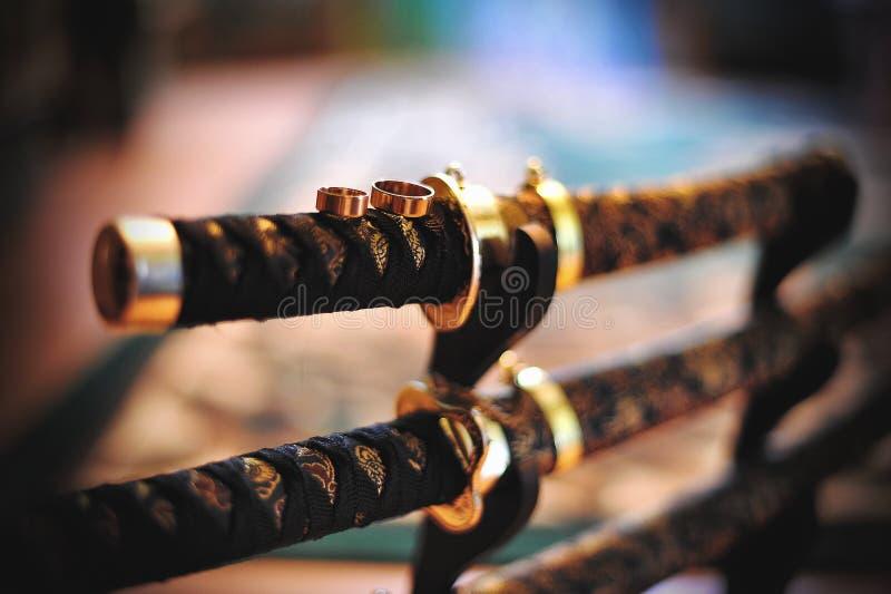 Шпага самураев стоковые изображения rf