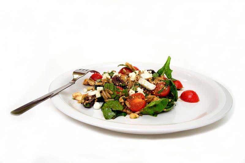 шпинат салата orzo стоковое фото