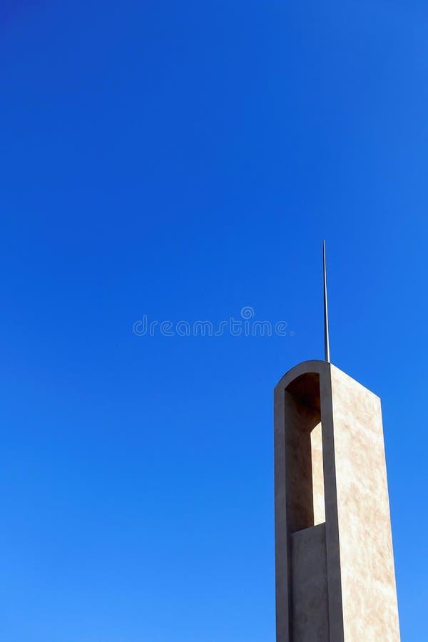 Шпиль башни стоковые изображения