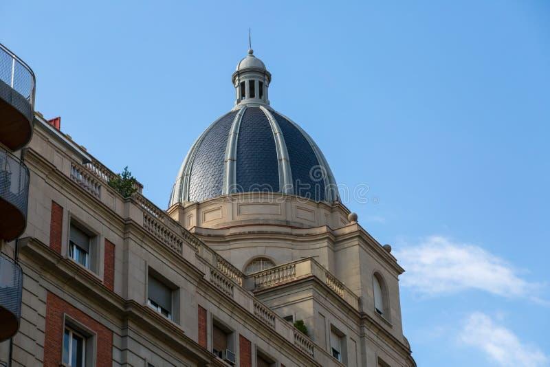 Шпиль церков Барселоны стоковая фотография rf