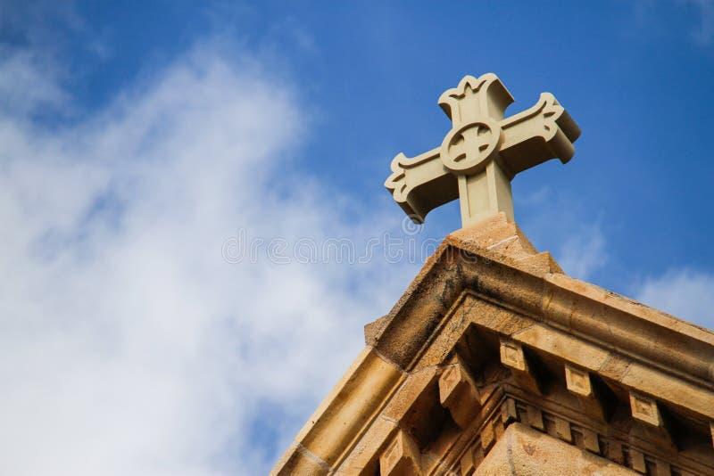 Шпиль церков стоковые фотографии rf