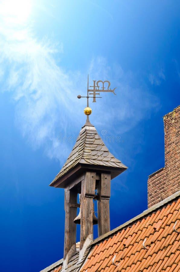 Шпиль церков стоковые изображения rf