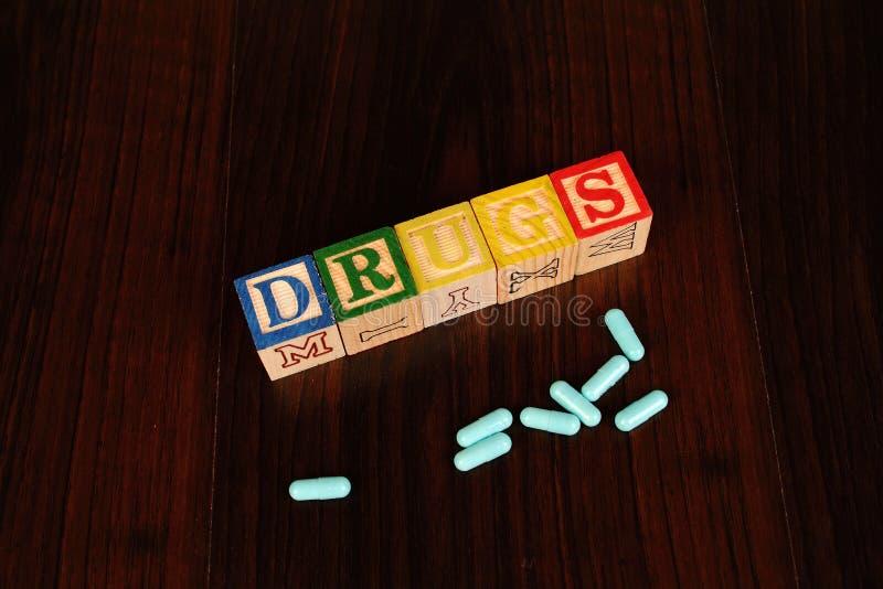 шприц фокуса снадобья наркомании стоковое изображение