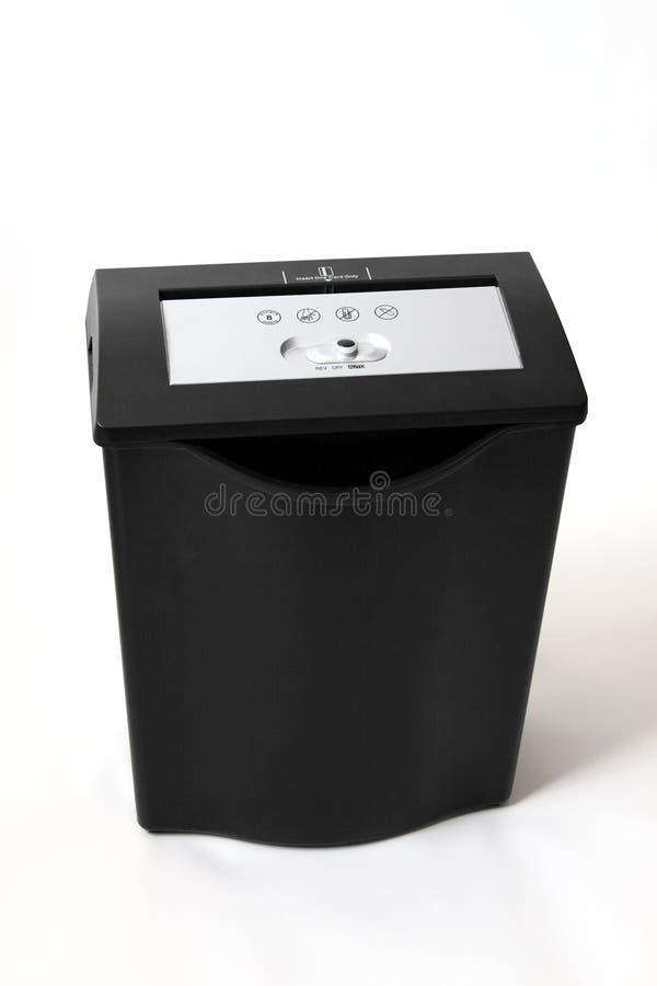 шредер изолированный изображением бумажный стоковое фото