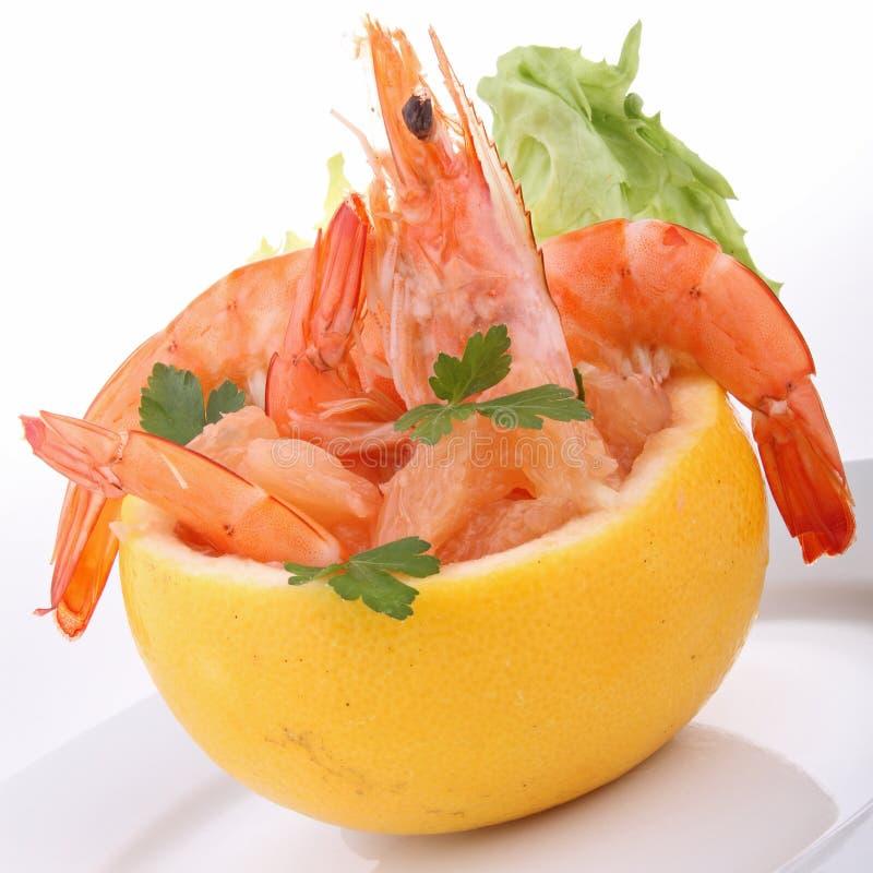 шримс салата грейпфрута стоковое фото rf