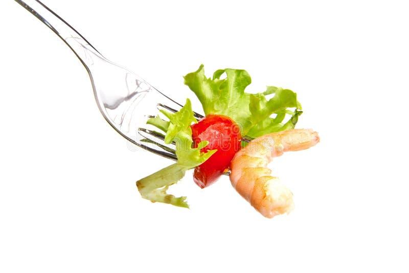 шримс салата стоковые фото