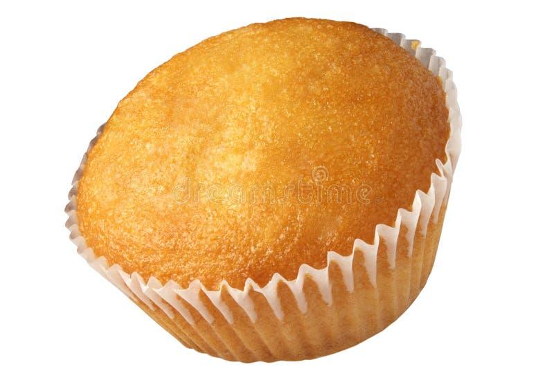 Штабелирующ, малое пирожное на белой предпосылке изолировано стоковое фото