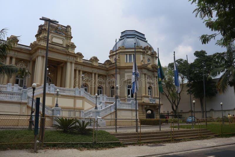 Штабы дворца Guanabara правительства положения  стоковое фото