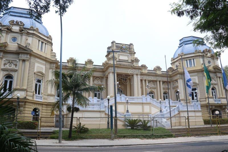 Штабы дворца Guanabara правительства положения  стоковые фото