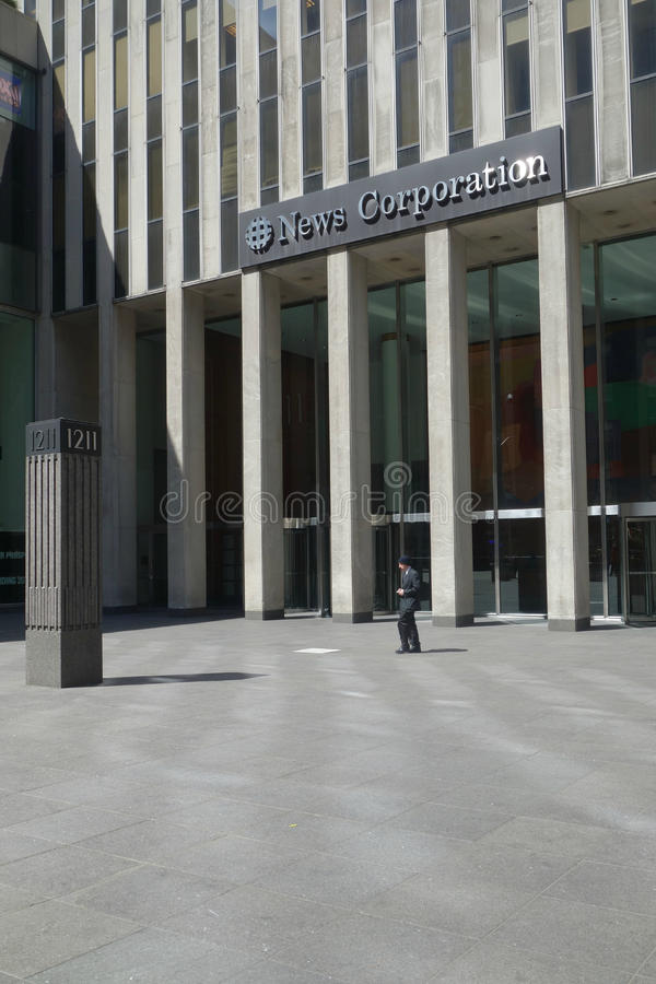 Штабы корпорации новостей стоковое изображение rf