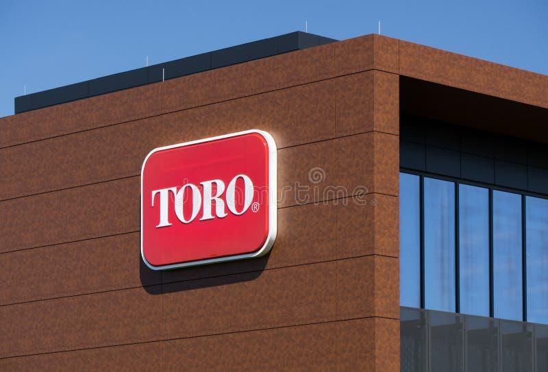 Штабы мира компании Toro стоковые изображения rf
