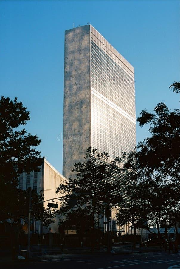 Штабы Организации Объединенных Наций Нью-Йорк стоковое фото rf