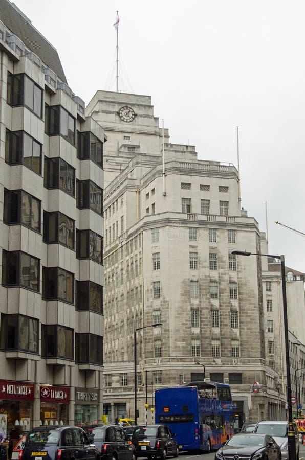 Штабы перехода Лондона, Вестминстер стоковая фотография rf