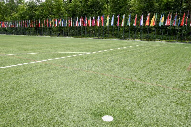 Штабы ФИФА на Цюрихе на Швейцарии стоковая фотография rf