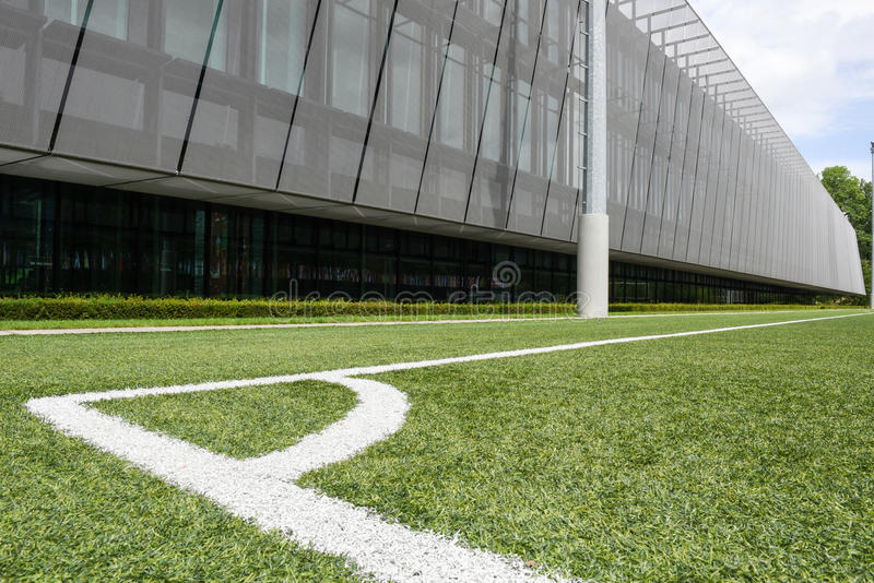 Штабы ФИФА на Цюрихе на Швейцарии стоковое изображение