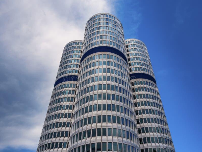 Штабы BMW в Мюнхене стоковое изображение