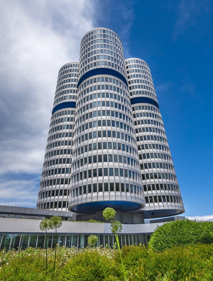 Штабы BMW в Мюнхене стоковое фото