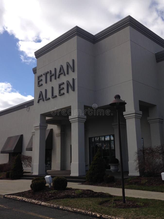 Штабы Ethan Алена стоковое фото