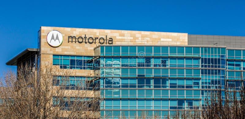 Штабы Motorola в Кремниевой долине стоковые изображения