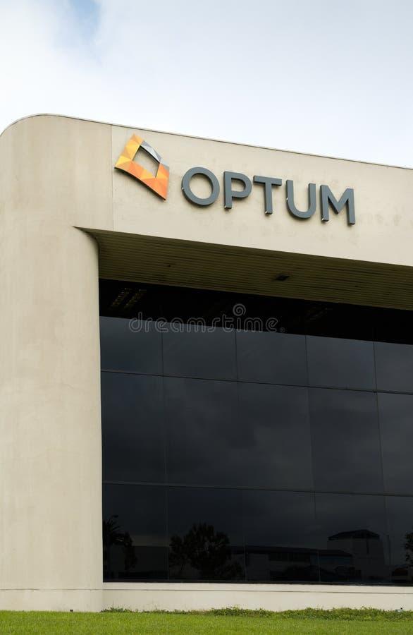 Штабы Optum корпоративные стоковое изображение