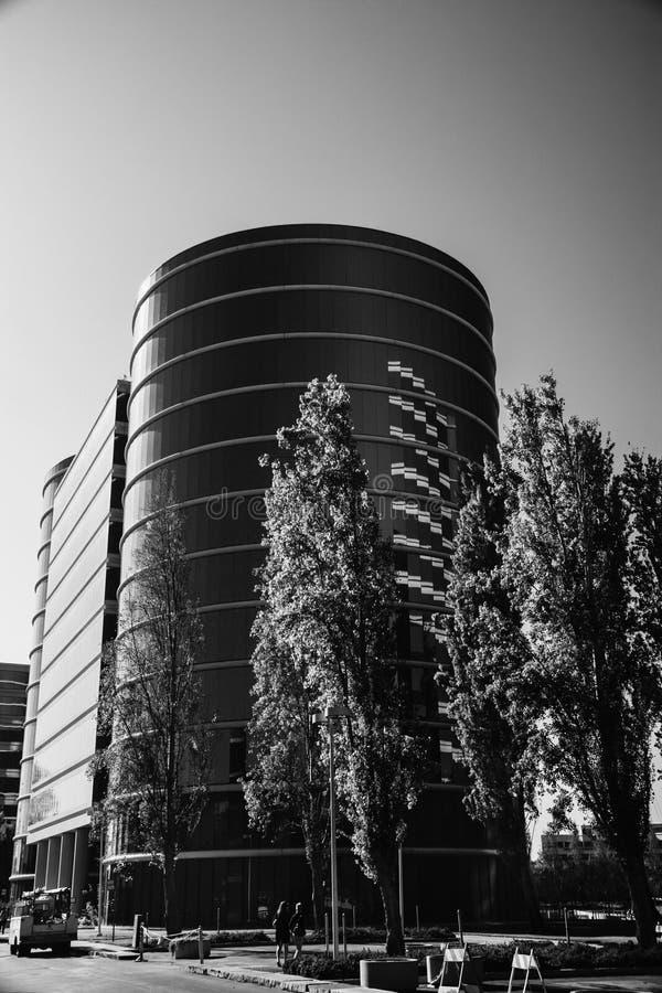 Штабы Oracle расположенные в Redwood City стоковое изображение rf