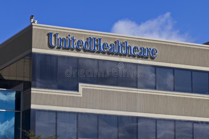 Штабы UnitedHealthcare Индианы i стоковое фото