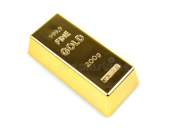 Штанга золота стоковые фото
