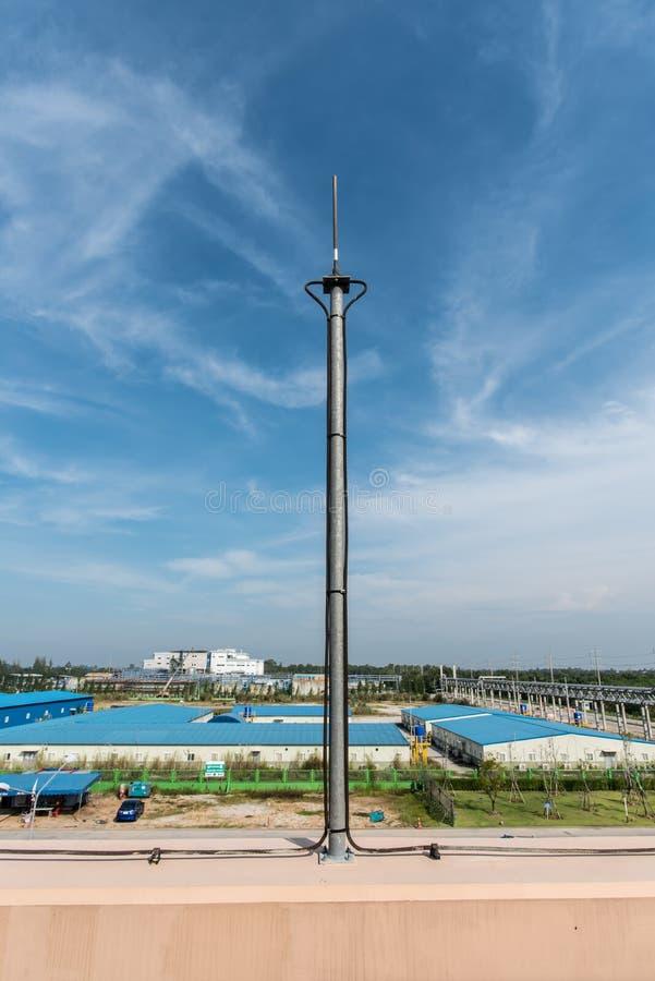 Штанга освещения на крыше стоковая фотография rf