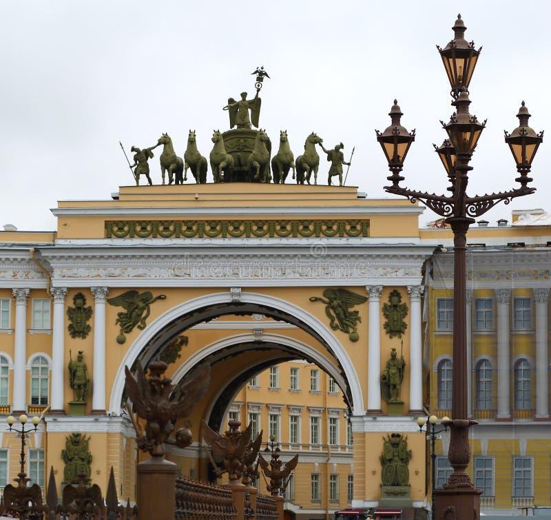 штат st генералитета petersburg России свода стоковые фото