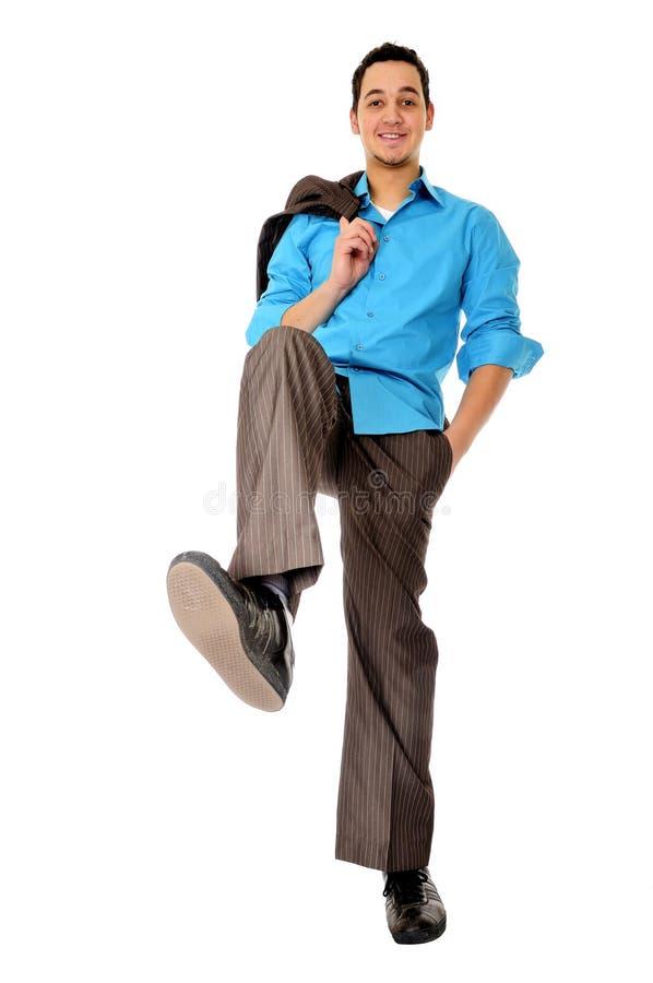 штемпелевать человека ноги ся стоковые изображения rf