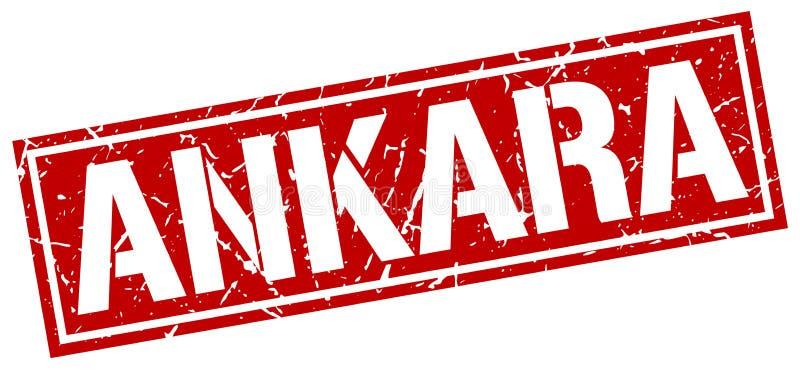 Штемпель Анкары бесплатная иллюстрация