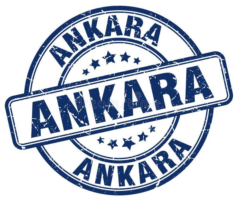Штемпель Анкары иллюстрация штока