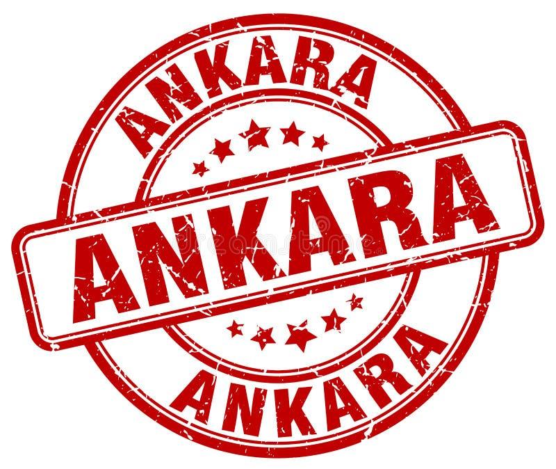 Штемпель Анкары иллюстрация вектора