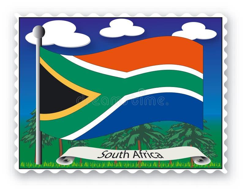 штемпель Африки южный бесплатная иллюстрация