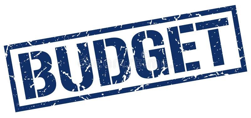 Штемпель бюджета бесплатная иллюстрация