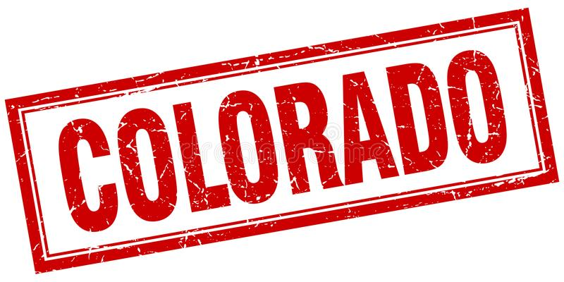 Штемпель Колорадо бесплатная иллюстрация