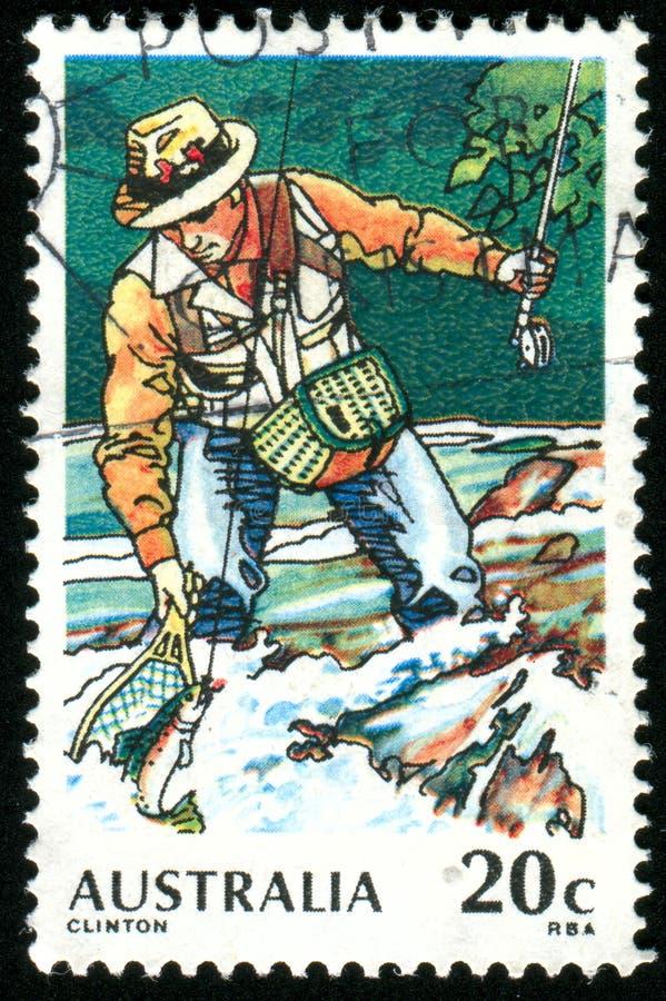 Штемпель почтового сбора Австралия стоковые фото
