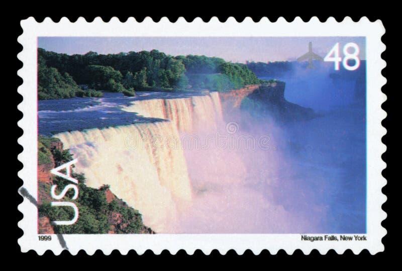 Штемпель почтового сбора США стоковое изображение rf