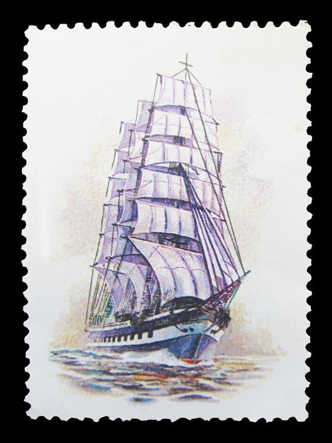 Штемпель почтового сбора бесплатная иллюстрация