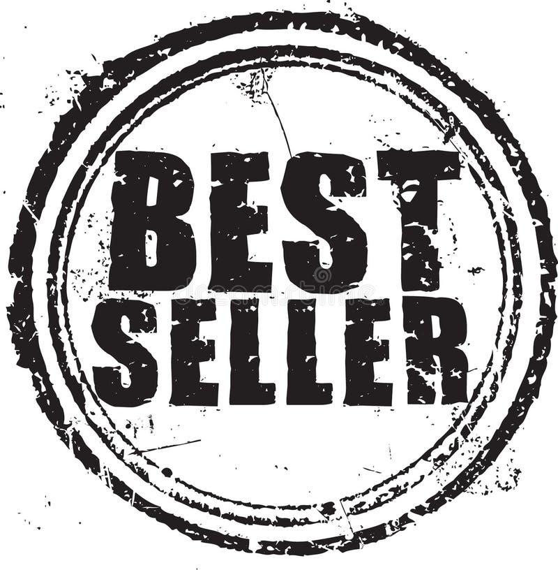Штемпель самого лучшего продавеца иллюстрация вектора