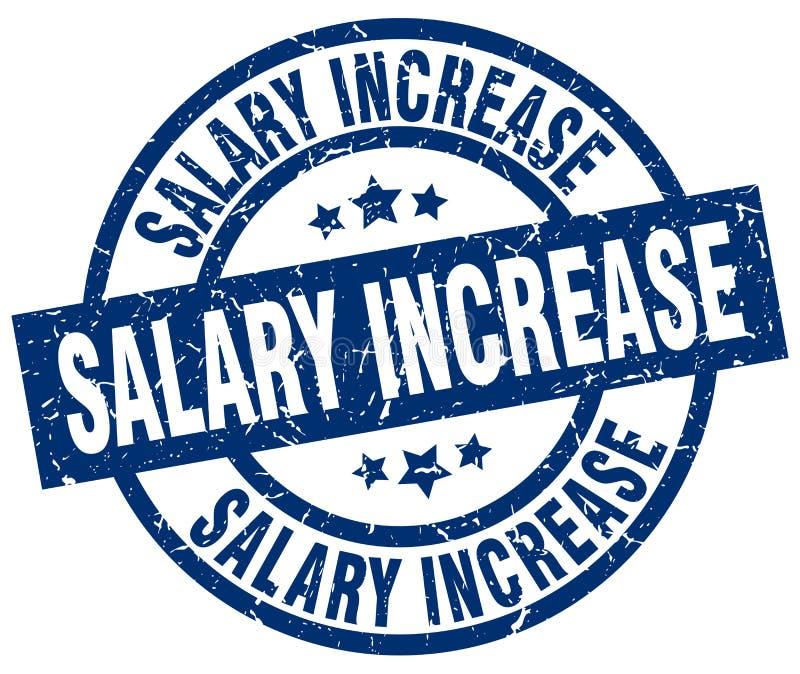 штемпель увеличения заработной платы иллюстрация вектора