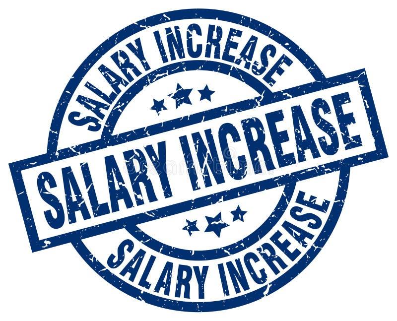 штемпель увеличения заработной платы бесплатная иллюстрация